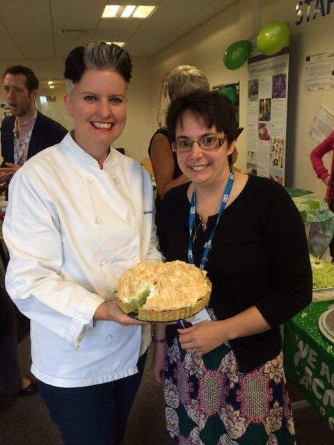 Bake off comp winner Rachel