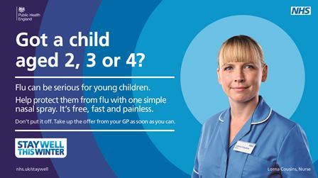 child flu jab